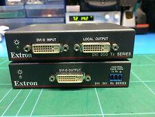 Extron DVI201 DVI Twisted Pair Extender - Tx / Rx Set