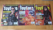 Toyfare Magazine 2009 - Lot of 8 Issues