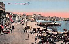 Malta Sliema Landing Place, commerce, coast, port, boats