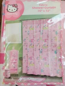 Hello Kitty Fabric Shower Curtain 70 In X 72 In