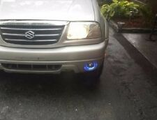 2001-2006 Suzuki XL-7 Blue Halo Angel Eye Fog Lamps Driving Lights Kit