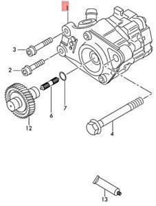 Genuine AUDI Q7 4LB Vane Pump 7L8422153F