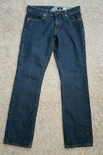 "  Mens Jeans size 29 (x 30"") VOLCOM Slim Straight cotton blue denim male"