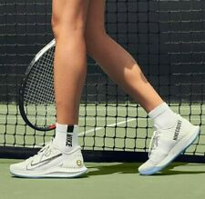 New NikeCourt Air Zoom Zero Ultra White Hard Court Tennis Shoes Men Women UK 5.5