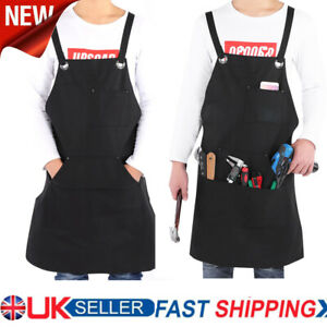 Carpenters Apron Gardening Heavy Duty Woodwork Apron with Different Pockets
