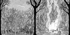 DEMONTAGE - Fire of Iniquity LP vinyl poster Sabbat Mortuary Drape Pagan Altar