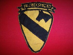 """FLYING HORSEMEN"" 1st CAVALRY Division Vietnam War Hand Sewn Shoulder Patch"
