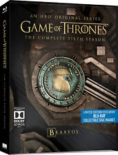 Game of Thrones Steelbook Sixth Season Six 6 collectors UK release with Magnet