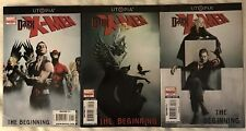 Utopia Dark X-men: The Beginning #1 -3 Marvel Comic by CORNELL, ASMUS &McCARTHY