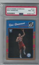 Ben Simmons  2016 Panini Donruss #151 RC Gem Mint PSA 8