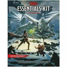 Dungeons & Dragons Essentials Kit Wizards of The Coast RPG Role Playing