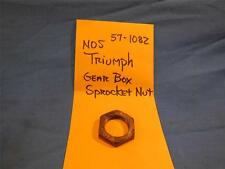 Triumph 57-1082 Gear Box Sprocket Nut NOS  NP1099