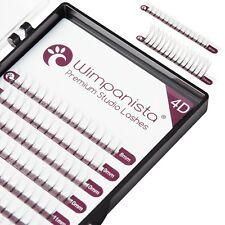 4D Volumen Wimpern C Curl - Stärke 0.07mm - Mix 8-14 - Wimpernverlängerung