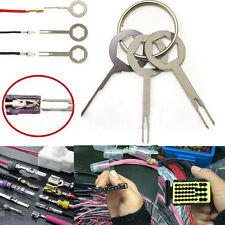 3×Terminal Removal Tool Car Electrical Wiring Crimp Connector Pin Key Tool Kit