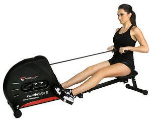 Christopeit Rudergerät Cambridge II, Heimtrainer Fitness Ruderzug Training