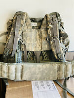 USGI MULTICAM LARGE RUCK  FIELD PACK COMPLETE WITH FRAME USED ORIGINAL ARMY BP