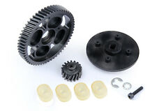 gear ratio 57T 17T metal helical tooth set HPI ROVAN KM Baja 5B 5T SS LT