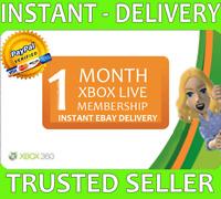 Xbox Live 1 Month (2x 14 Day!) Gold Membership Microsoft Xbox One / Xbox 360