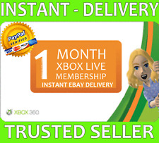 Xbox Live 1 Month Gold Membership (2x 14 Day!) Microsoft Xbox One / Xbox 360