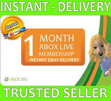 Xbox Live 1 meses Gold membresía Microsoft Xbox One/360 - [leer descripción!]