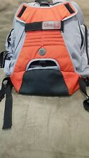 Clive Skateboard Snowboard Backpack gray/orange Excellent Condition!