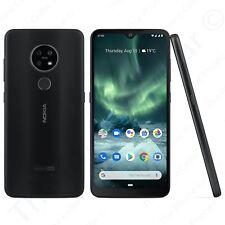"Unlocked Nokia 7.2 Ta-1178 (Single-Sim): 6.3"" Fhd, 128Gb Ram, 4K Video, Charcoal"