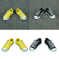 1:6 Scale Lace Up Canvas Shoes Sneakers for Dragon DML HT 12'' Action Figure