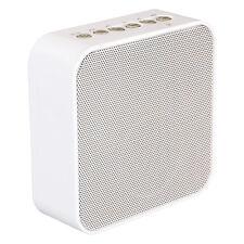 AudioAffairs - Plug Radio Küchenradio in weiß  - FM-Radio, Bluetooth, Powerbank