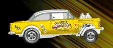 Hot Wheels 2019 sELECTIONS Chevy Bel Air Gasser Dirty Blonde RLC Presale