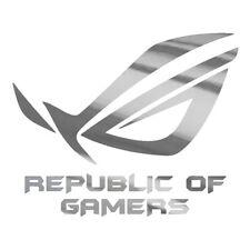 PEGATINA VINILO ADHESIVO REPUBLIC OF GAMERS ASUS DECAL STICKER COLORES A ELEGIR