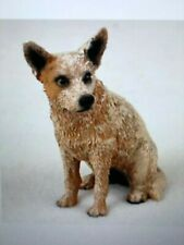 Red Australian Cattle Dog Figurine. New!