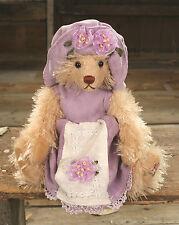Teddy Bear 'Deborah' Settler Bears Handmade Dress Gift 25cms BRAND NEW