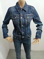 Giubbino DIESEL donna taglia size L woman cotone jacket P 6136