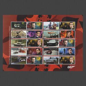 2020 James Bond Collector/Generic/Smiler Sheet