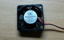 Lüfter 12V Mini-Lüfter LED PC Kühlung für DIY Projekte 30x30x7mm sehr leise 25dB