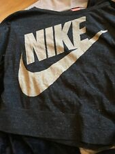 Nike Tshirt Manche 3/4 Pour Femme Logo Swoosh Neuf Taille L 40-42