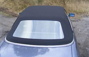 Audi 80 Cabrioverdeck - Stoff schwarz (Baujahr 91-99)
