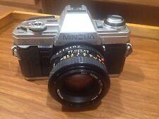 MINOLTA X-370 Film camera MD 50mm 1:1.7 Lens Japan