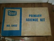 Vintage Huge 1963 IDEAL Primary Grades Science Experiment Kit Lab Toy