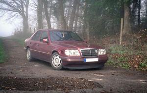 Mercedes Benz W124 Euro CL Front Bumper Chin Spoiler Lip Sport Valance Splitter