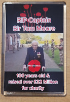 Sir Captain Tom Moore RIP FRIDGE MAGNET 90X60 now with free pin badge  worth 99p