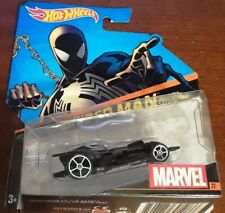 Hot Wheels Marvel Black Costume Spiderman