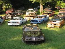 1979 Pontiac Trans Am junkyard camaro, 24 x 36 Inch Poster, formula, 6.6 engine
