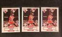 (3) 1990-91 Fleer MICHAEL JORDAN #26 Basketball Card LOT bulls goat MJ 💥💥💥