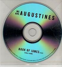 (CJ202) We Are Augustines, Book of James - 2011 DJ CD