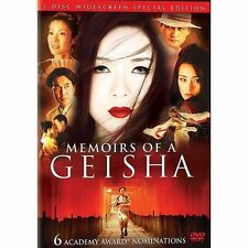 Personal Collection, Memoirs of a Geisha (DVD, 2006, 2-Disc Set, Wide) LIKE NEW