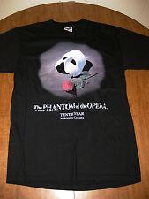 PHANTOM OF OPERA med T shirt 1989 theater tee Andrew Lloyd Webber anniversary OG