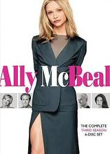 Ally McBeal: The Complete Third 3rd Season 3 (DVD, 2010, 6-Disc Set) New