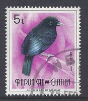 1991-93 PAPUA NEW GUINEA 5t BIRD WITH JULY 1993 AT BASE FINE USED our ref K4