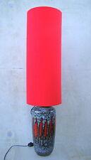 scheurich fat lava keramik floorlamp bodenlampe stehlampe 70er europ line  lampe